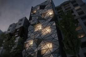 مدلسازی نمای ساختمان