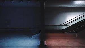 انیمیت پله برقی در مکس و لومیون