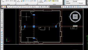 دیوار و در و پنجره در 3dsMax