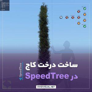 ساخت درخت کاج در SpeedTree