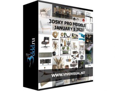 3DSKY-PRO-MODELS